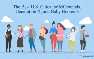 The Best Cities for Millennials, Generation X, and Baby Boomers