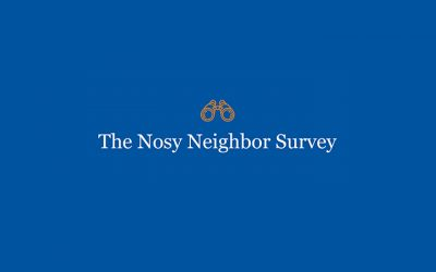 Nosy Neighbors: A Survey of the Nosiest Neighbors in the US