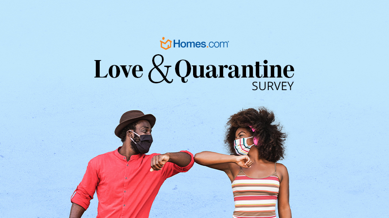 Love Conquers (Almost) All During Quarantine: Homes.com Survey